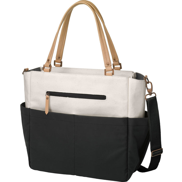 Diaper Bag - Petunia Pickle Bottom Downtown City Carryall - Birch/Black