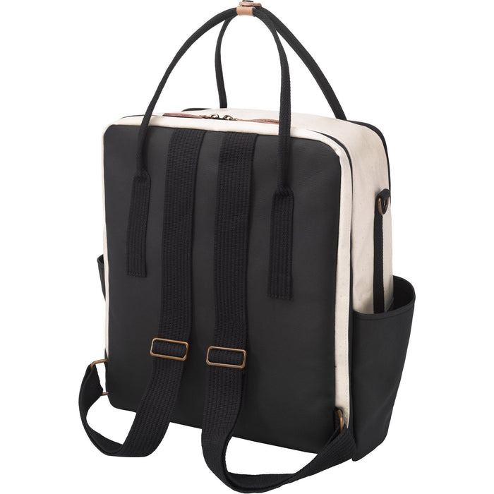 Diaper Bag - Petunia Pickle Bottom Inter-Mix Backpack: Birch/Black