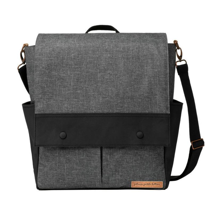 Diaper Bag - Petunia Pickle Bottom Pathway Pack: Graphite/ Black
