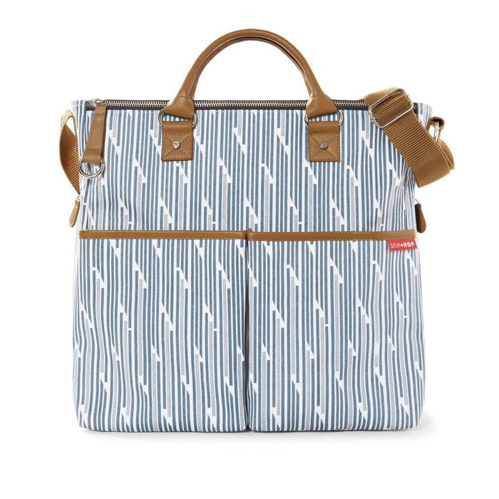 Diaper Bag - Skip Hop Duo Special Edition Diaper Bag - Blue Split Stripe