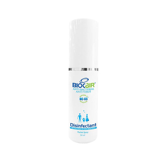 Disinfectant Spray - BioCair Disinfectant Anti-Bacterial Anti- Virus Pocket Spray