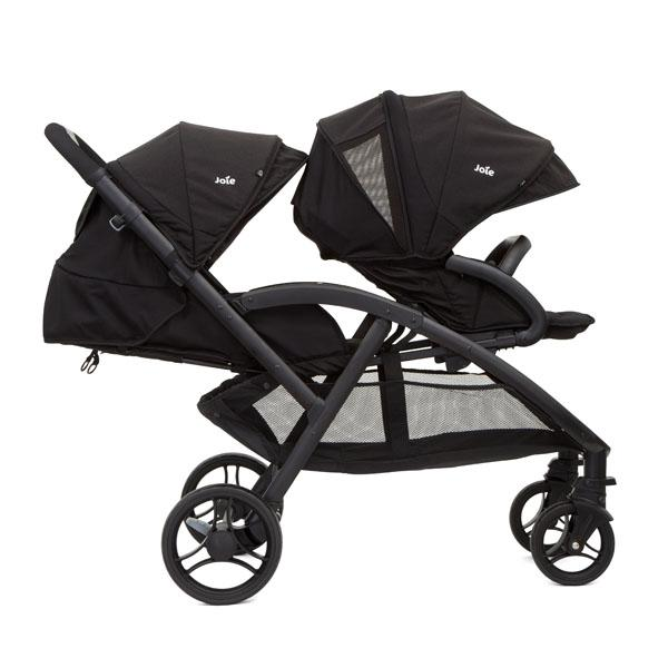 Double Stroller - Joie Evalite Duo COAL