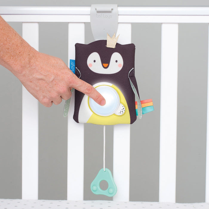 Easier Sleep - Taf Toys Prince The Penguin Baby Soother