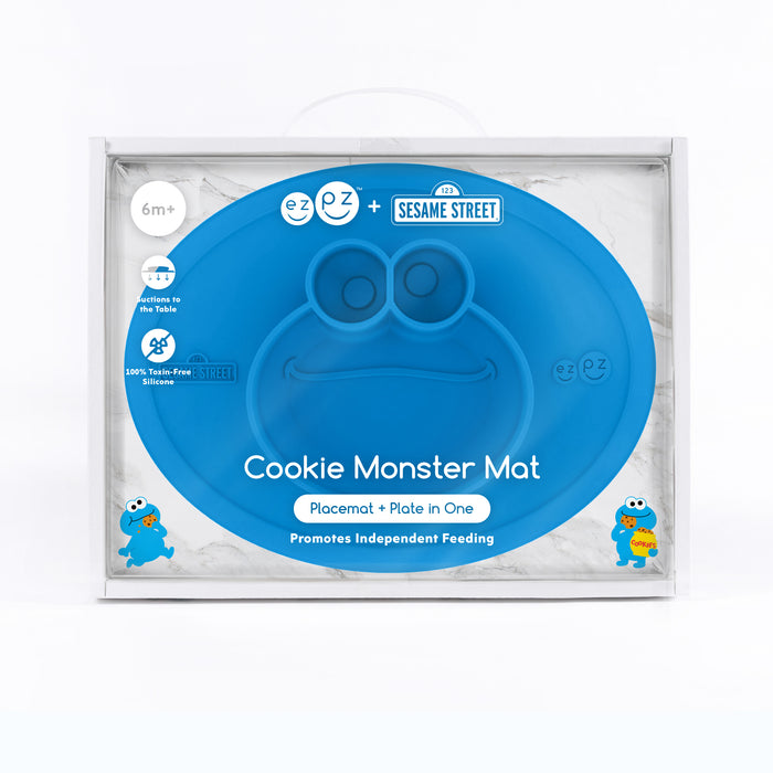 ezpz Sesame Street Mat - Cookie Monster