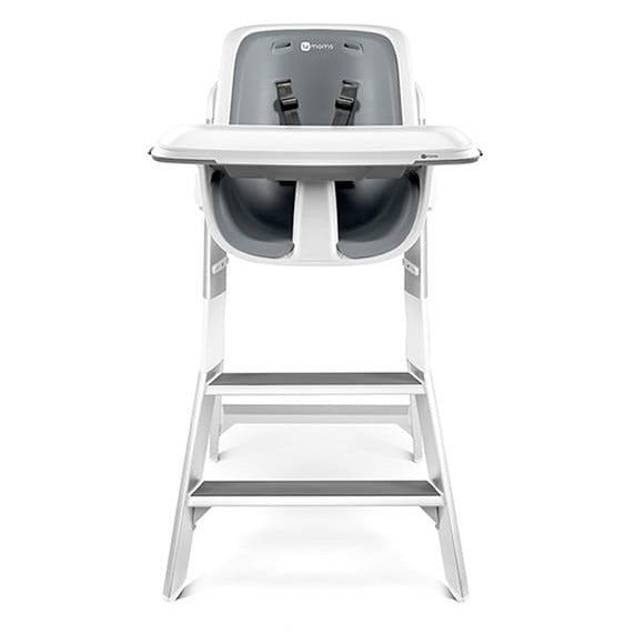 4Moms High Chair - Grey/White - Little Baby Singapore - 1
