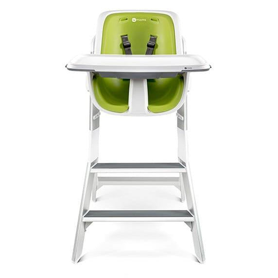 4Moms High Chair - White/Green - Little Baby