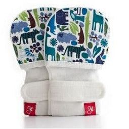 Guavamitts Baby Mittens - Tiny Zoo Mitts - Little Baby