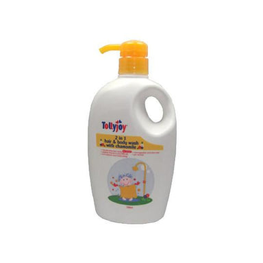 Hair & Body Wash - Tollyjoy 2 In 1 Hair And Body Wash (750ml) - Chamomile