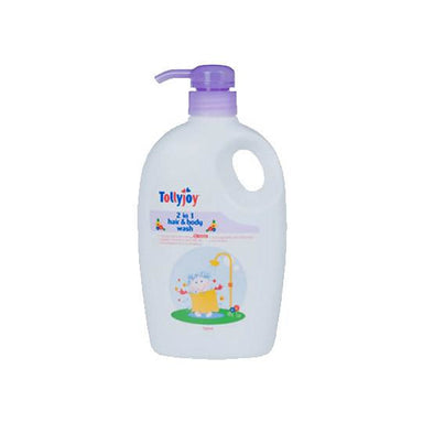 Hair & Body Wash - Tollyjoy 2 In 1 Hair And Body Wash (750ml) - Lavender