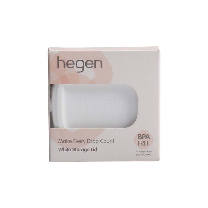 HEGEN PCTO™ BREAST MILK STORAGE LID WHITE