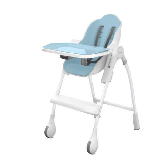 High Chair - Oribel Cocoon Delicious High Chair - Blue Raspberry Marshmallow