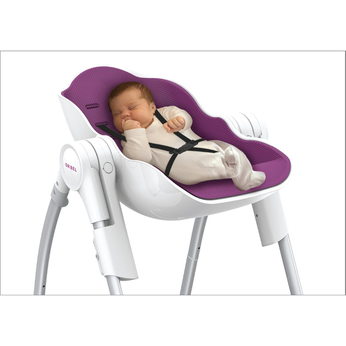 High Chair - Oribel Cocoon™ - The Complete High Chair (Slate)