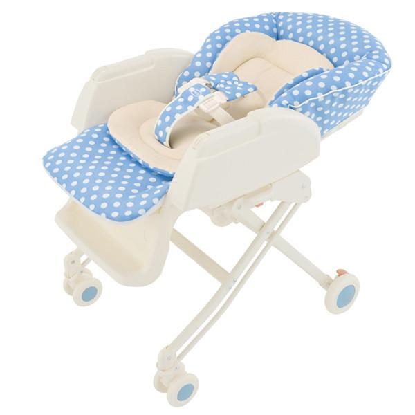 Highchair - Aprica High-Low Bed & Chair (Blue)
