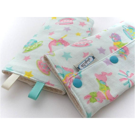 Jinglebib Drool Pad - Cartoons - Little Baby Singapore