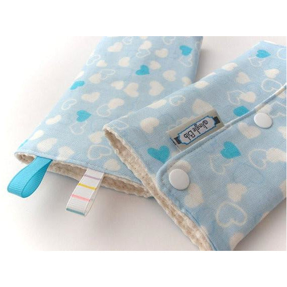 Jinglebib Drool Pad - Love - Little Baby