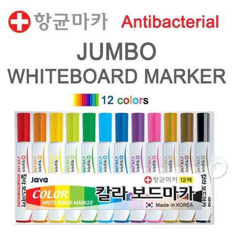 Momsboard Jumbo whiteboard marker – 12 colors set