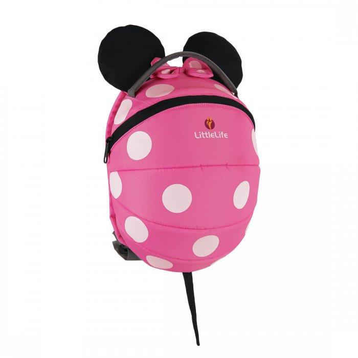 Kids Backpack - LittleLife Big Disney Pink Minnie Mouse Kids Backpack