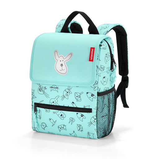 Kids - Reisenthel BackPack Kids Cats & Dogs Mint