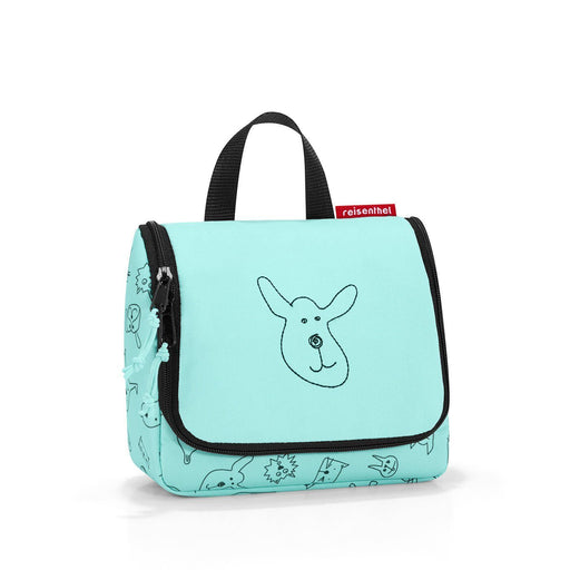 Kids - Reisenthel Toiletbag S Kids Cats & Dogs Mint