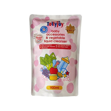 Liquid Cleanser - Tollyjoy Antibacterial Baby Accessories & Vegetable Liquid Cleanser Refill (900ml)