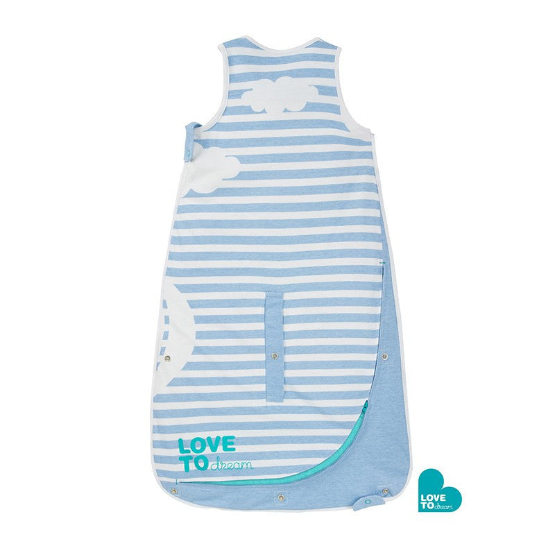 Love to Dream Inventa Sleep Bag 0.5 Tog (Blue) - Little Baby