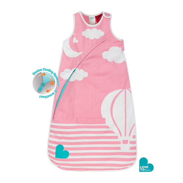 Love to Dream Inventa Sleep Bag 0.5 Tog (Pink) - Little Baby