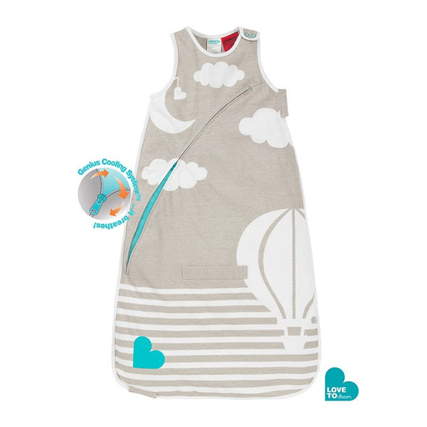 Love to Dream Inventa Sleep Bag 0.5 Tog (Taupe) - Little Baby