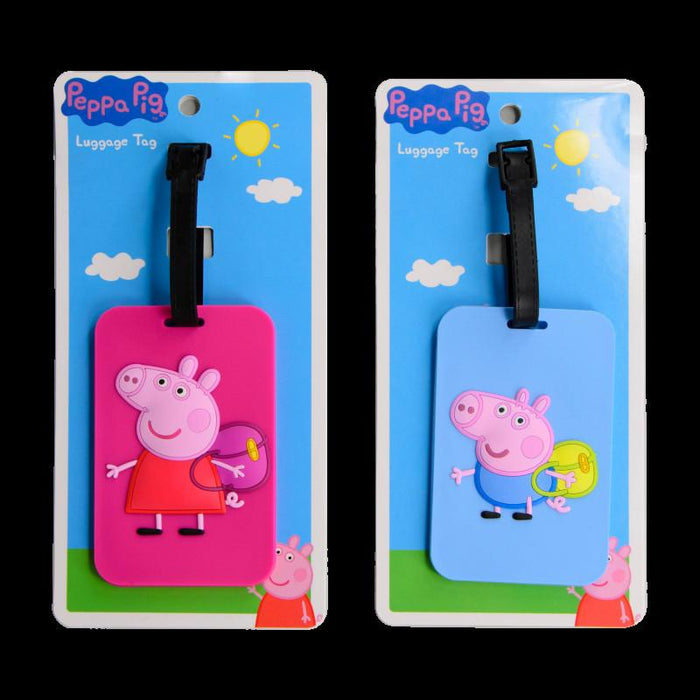 Luggage Tag - PEPPA PIG - Luggage Tag (Peppa)