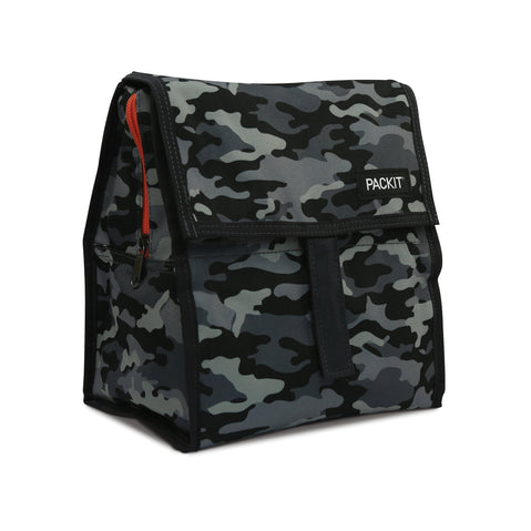 Lunch Bag - PackIt Freezable Lunch Bag - Charocoal Camo 2019