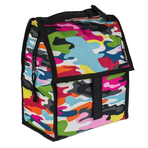 Lunch Bag - PackIt Freezable Lunch Bag - Colourful Camo