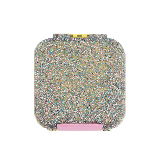 Lunch Box - Little Lunch Box Co - Bento Two - Yellow Glitter