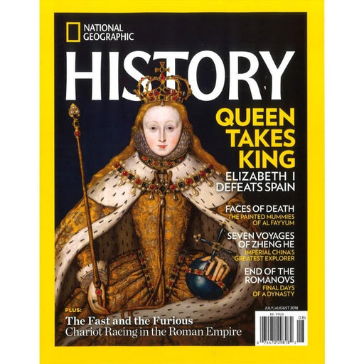 Magazine - National Geographic History (6 Issues Per Year)