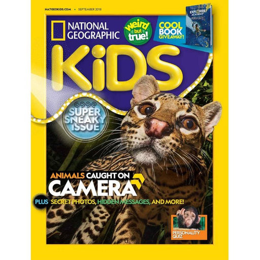 Magazine - National Geographic Kids (10 Issues Per Year)