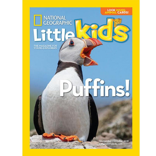 Magazine - National Geographic Little Kids (6 Issues Per Year)