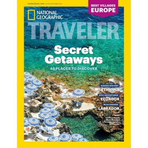Magazine - National Geographic Traveler (6 Issues Per Year)