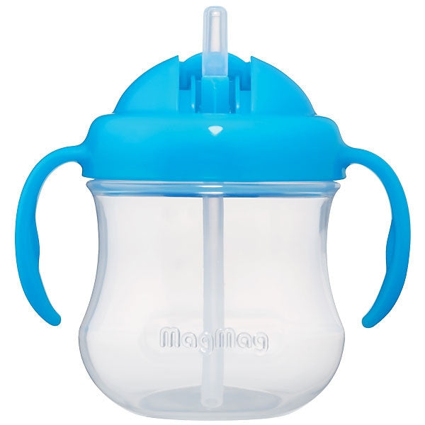 Pigeon MagMag Straw Cup (for 8 months onwards) Blue - Little Baby