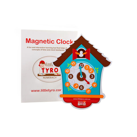 Little Tyro Magnetic Cuckoo Clock
