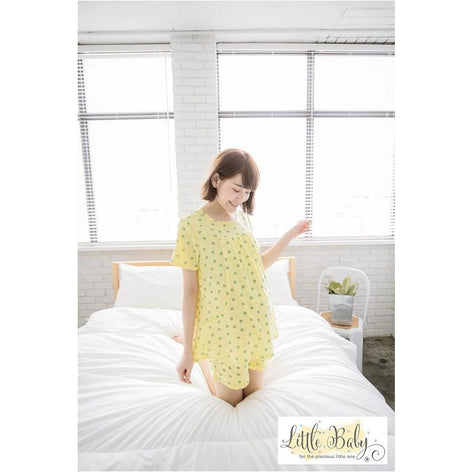 Maternity Wear - LB16670242 Little Owl - Yellow (Free Size)