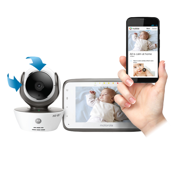 Motorola Wifi Camera & Baby Monitor White MBP854 CONNECT