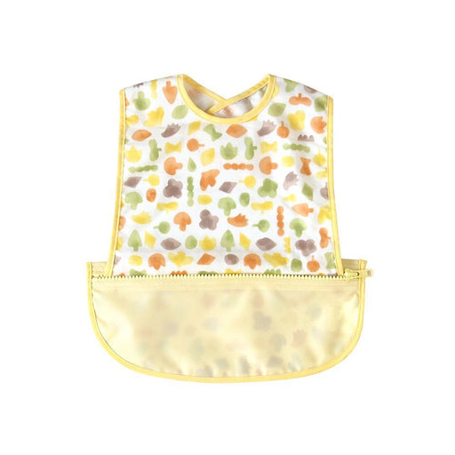 Meal Bib - Hoppetta Pouchron Sleeveless Meal Bib - Poka Yellow