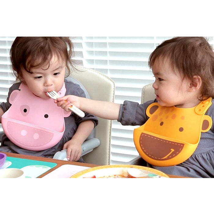 Meal Time - Marcus & Marcus Baby Bib - Pokey