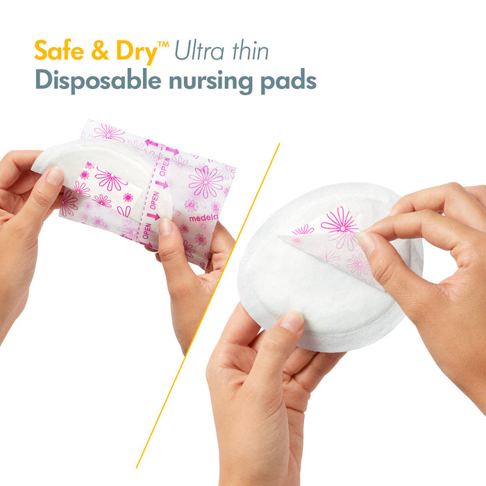 Medela Safe & Dry Ultra Thin Disposable Bra Pads (30s)