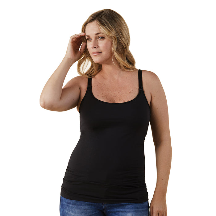 Bravado Design® Classic Nursing Cami - Black (Choose Size: S,M,L,XL)