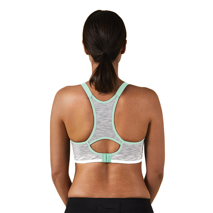 Bravado Design® Body Silk Seamless Rhythm - White Grey Spacedye (Choose size: S,M,L,XL)