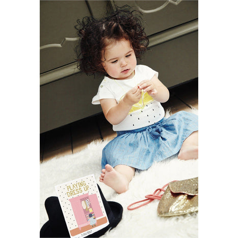 Milestone Cards - Milestone Baby's First Fashion Moments Booklet