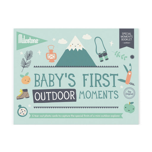Milestone Cards - Milestone Baby's First Outdoor Moments Booklet