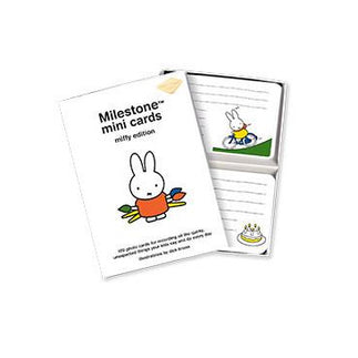 Milestone Cards - Milestone Mini Cards Miffy Edition (First Words And Quotes)