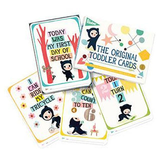 Milestone Cards - Milestone Toddler Cards