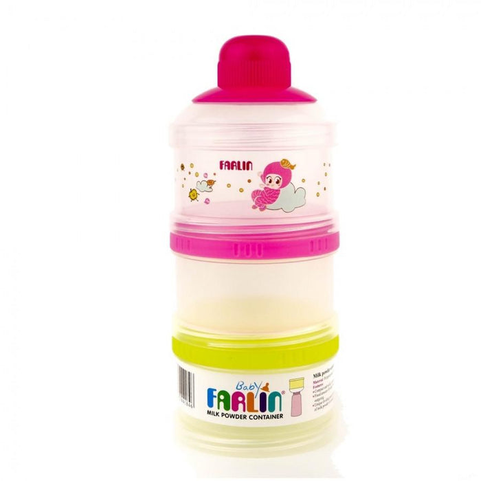Milk Container - Farlin Milk Powder Container - 3 Layer