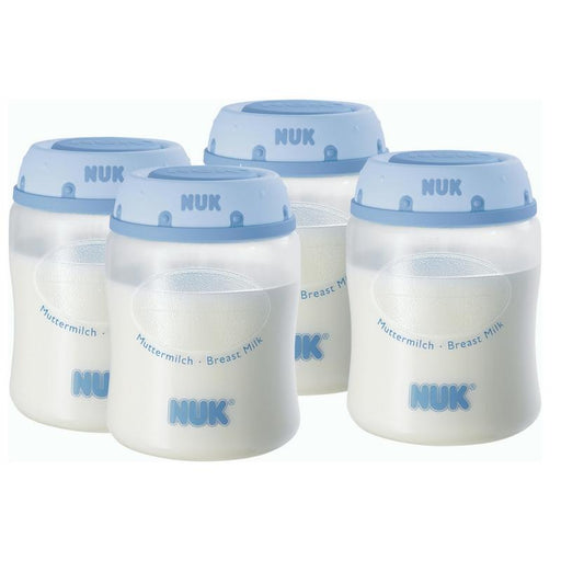 Milk Container - NUK Breast Milk Containers (4 PK) -150ml